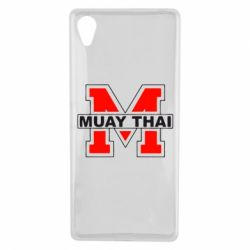 Чехол для Sony Xperia X Muay Thai Big M - FatLine