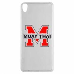 Чехол для Sony Xperia XA Muay Thai Big M - FatLine