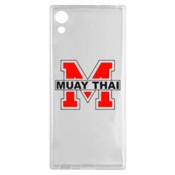Чехол для Sony Xperia XA1 Muay Thai Big M - FatLine