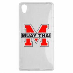 Чехол для Sony Xperia Z1 Muay Thai Big M - FatLine