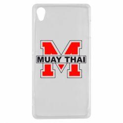 Чехол для Sony Xperia Z3 Muay Thai Big M - FatLine