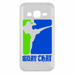 Чехол для Samsung J2 2015 Muay Thai Champion - FatLine