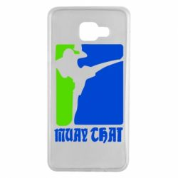 Чехол для Samsung A7 2016 Muay Thai Champion - FatLine