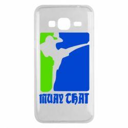 Чехол для Samsung J3 2016 Muay Thai Champion - FatLine
