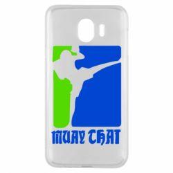 Чехол для Samsung J4 Muay Thai Champion - FatLine
