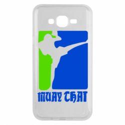 Чехол для Samsung J7 2015 Muay Thai Champion - FatLine