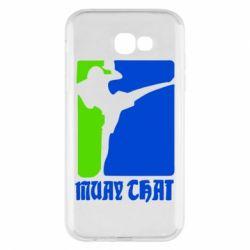 Чехол для Samsung A7 2017 Muay Thai Champion - FatLine