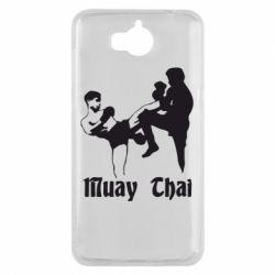 Чехол для Huawei Y5 2017 Muay Thai Fighters - FatLine