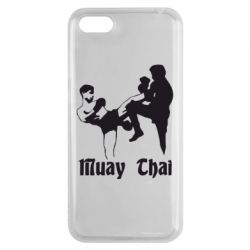 Чехол для Huawei Y5 2018 Muay Thai Fighters - FatLine