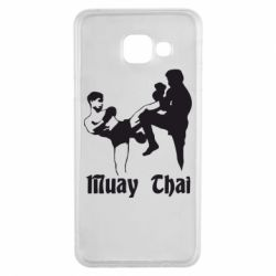 Чохол для Samsung A3 2016 Muay Thai Fighters