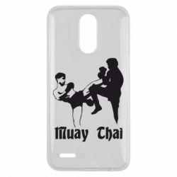 Чехол для LG K10 2017 Muay Thai Fighters - FatLine