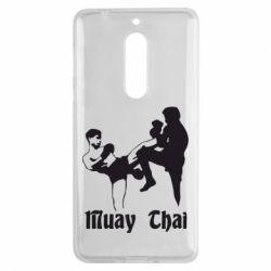 Чехол для Nokia 5 Muay Thai Fighters - FatLine