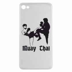 Чехол для Meizu U20 Muay Thai Fighters - FatLine