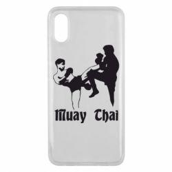 Чехол для Xiaomi Mi8 Pro Muay Thai Fighters - FatLine