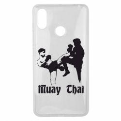 Чехол для Xiaomi Mi Max 3 Muay Thai Fighters - FatLine