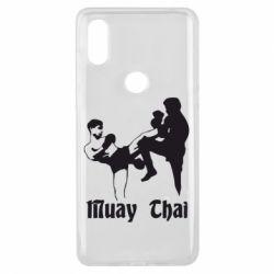 Чехол для Xiaomi Mi Mix 3 Muay Thai Fighters - FatLine