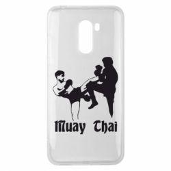 Чехол для Xiaomi Pocophone F1 Muay Thai Fighters - FatLine