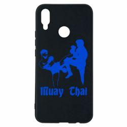 Чехол для Huawei P Smart Plus Muay Thai Fighters - FatLine