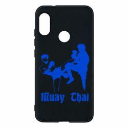Чехол для Mi A2 Lite Muay Thai Fighters - FatLine