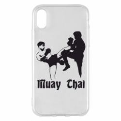 Чохол для iPhone X/Xs Muay Thai Fighters