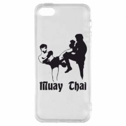 Чохол для iphone 5/5S/SE Muay Thai Fighters