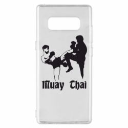 Чохол для Samsung Note 8 Muay Thai Fighters