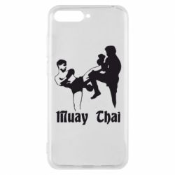 Чехол для Huawei Y6 2018 Muay Thai Fighters - FatLine