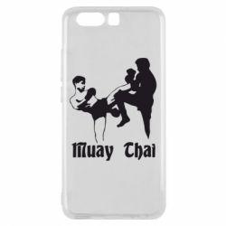 Чехол для Huawei P10 Muay Thai Fighters - FatLine