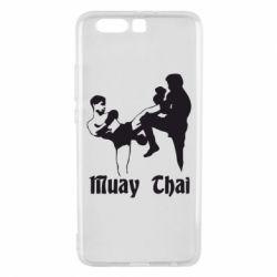 Чехол для Huawei P10 Plus Muay Thai Fighters - FatLine
