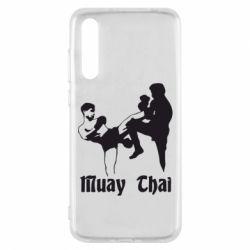 Чехол для Huawei P20 Pro Muay Thai Fighters - FatLine