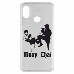 Чехол для Xiaomi Mi8 Muay Thai Fighters - FatLine