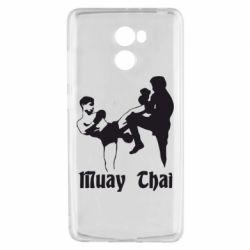 Чехол для Xiaomi Redmi 4 Muay Thai Fighters - FatLine