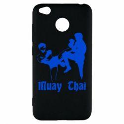 Чехол для Xiaomi Redmi 4x Muay Thai Fighters - FatLine