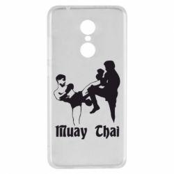 Чехол для Xiaomi Redmi 5 Muay Thai Fighters - FatLine