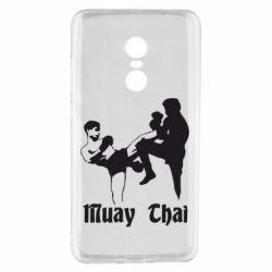 Чехол для Xiaomi Redmi Note 4 Muay Thai Fighters - FatLine