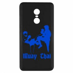 Чехол для Xiaomi Redmi Note 4x Muay Thai Fighters - FatLine