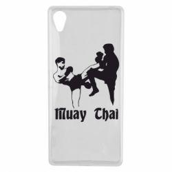 Чехол для Sony Xperia X Muay Thai Fighters - FatLine