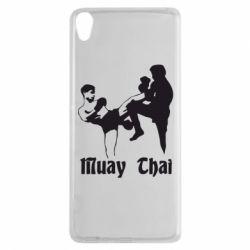 Чехол для Sony Xperia XA Muay Thai Fighters - FatLine