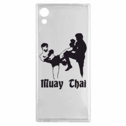 Чехол для Sony Xperia XA1 Muay Thai Fighters - FatLine