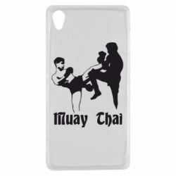 Чехол для Sony Xperia Z3 Muay Thai Fighters - FatLine