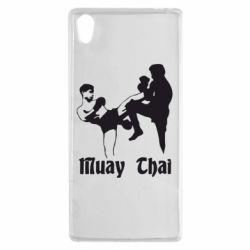Чехол для Sony Xperia Z5 Muay Thai Fighters - FatLine