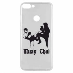 Чехол для Huawei P Smart Muay Thai Fighters - FatLine