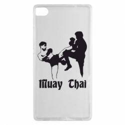 Чехол для Huawei P8 Muay Thai Fighters - FatLine