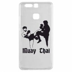 Чехол для Huawei P9 Muay Thai Fighters - FatLine