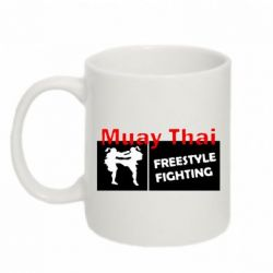 Кружка 320ml Muay Thai Freestyle