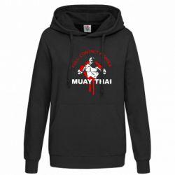 Женская толстовка Muay Thai Full Contact - FatLine