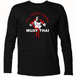 Футболка с длинным рукавом Muay Thai Full Contact - FatLine
