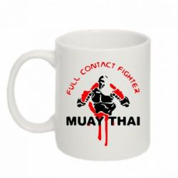 Кружка 320ml Muay Thai Full Contact - FatLine