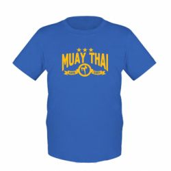 Детская футболка Muay Thai Hard Body