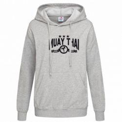 Женская толстовка Muay Thai Hard Body